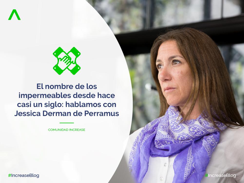 El nombre de los impermeables desde hace casi un siglo: hablamos con Jessica Derman de Perramus